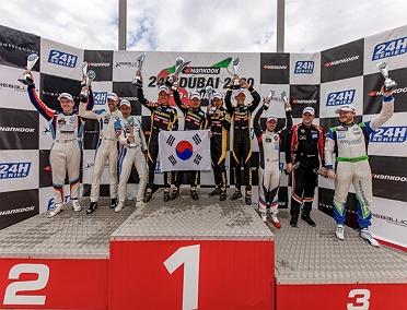 두바이 2020 GT4 클래스 우승